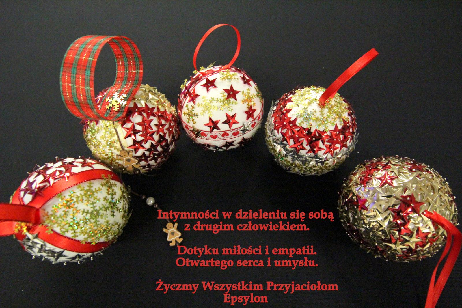 życzenia świateczne Epsylon